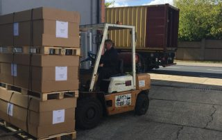 Mediplinth Botswana Forklift