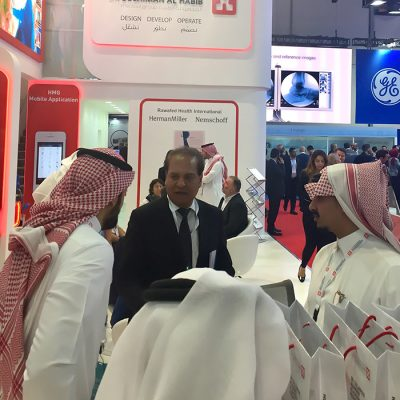 HCE Group Raj Singh Arab Health 2018