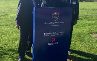 HCE Group Tree Sponsor Queen Margaret University